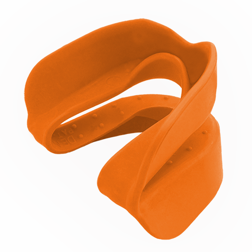 orange mouth guard
